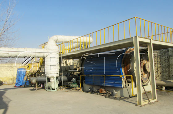 plastic to fuel oil machine for sale