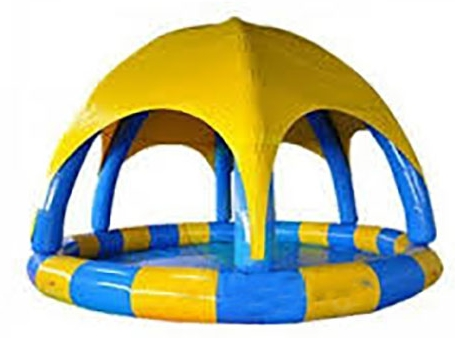 Inflatable Swimming Pool with Tent in beston